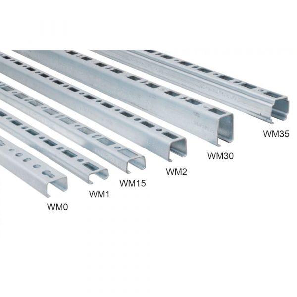 Монтажний профіль Walraven Rapid Rail 1